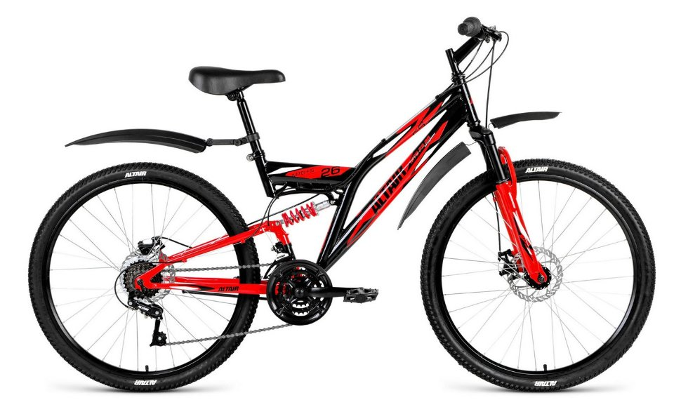 Велосипед FORWARD ALTAIR MTB FS 26 DISC (2018) в Москве
